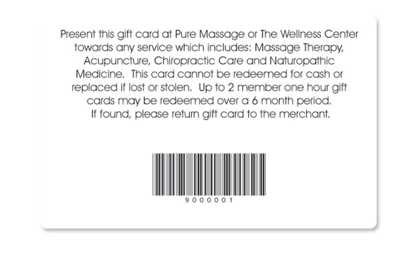 Gift Card Terms and Conditions Samples – Sample Gift Card