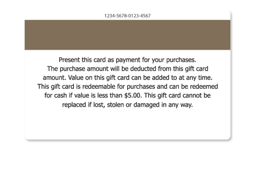 Gift card terms and conditions samples sample 16 spiritdancerdesigns Gallery