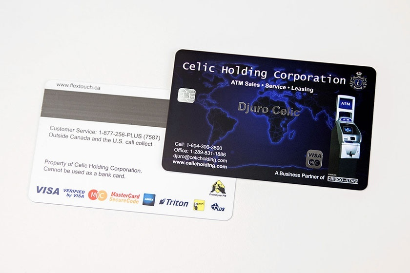 Chip cards custom plastic cards from plastic printers black cards silver foil chip colourmoves