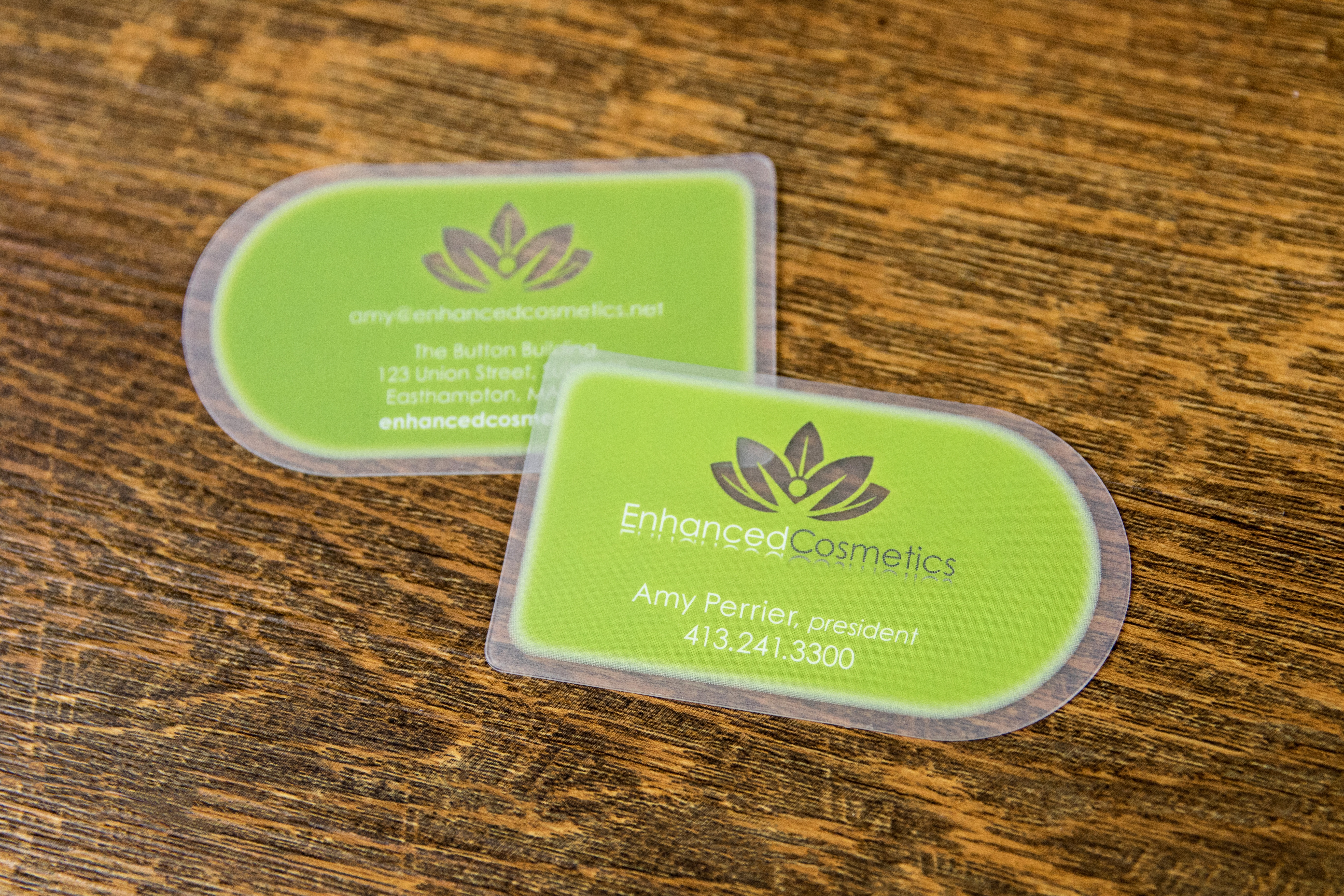 cosmetic business cards