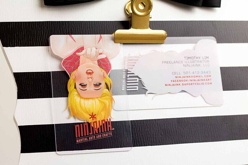 Request a quote for custom plastic business cards plastic printers clear business card reheart Gallery