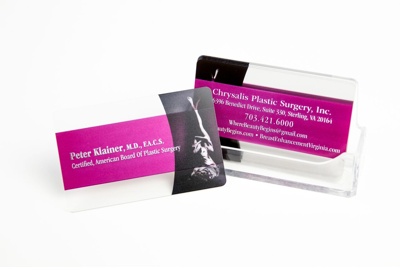 Request a Quote for Custom Plastic Business Cards | Plastic Printers