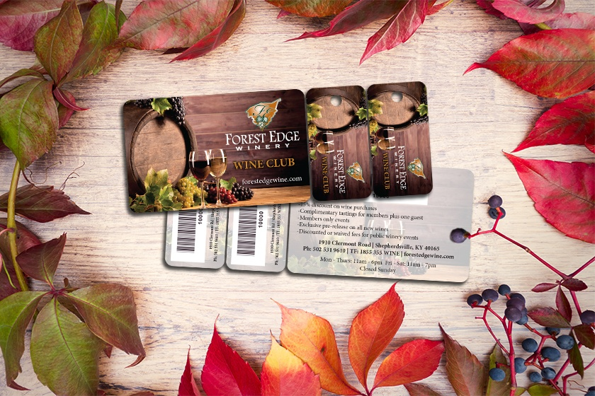 Wine Club Combo Card