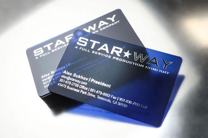 Transparent business cards plastic printers transparent logo business cards colourmoves