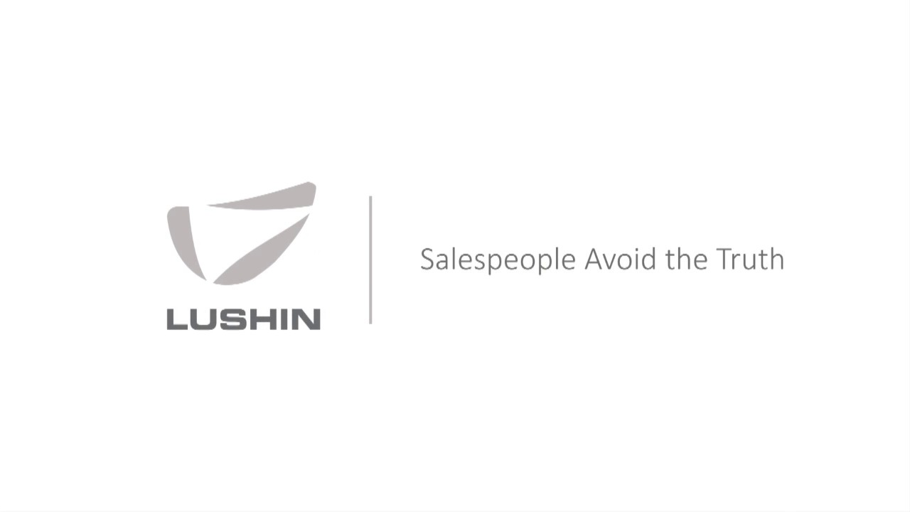 Salespeople Avoid the Truth