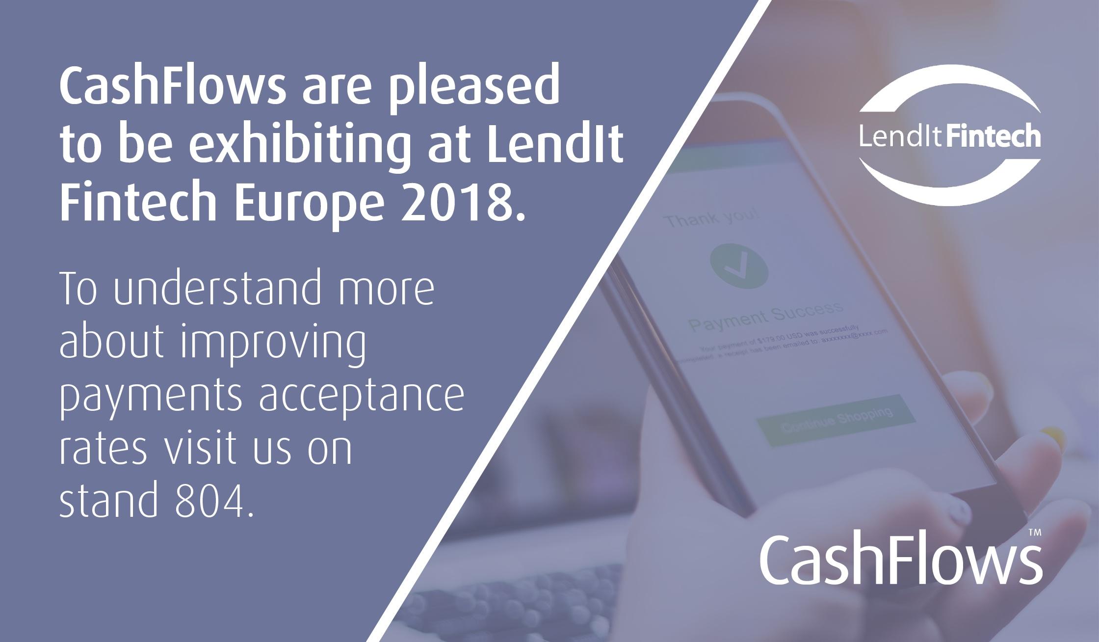 Soon to be landing at Lendit Fintech Europe 2018