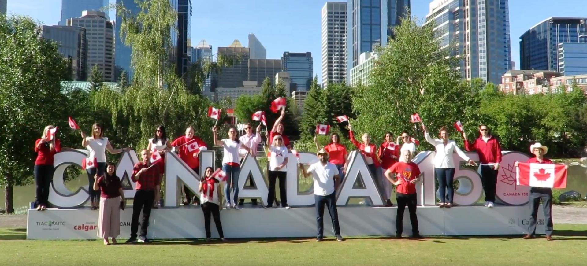 Aplin Celebrates Canada 150 By Giving Back