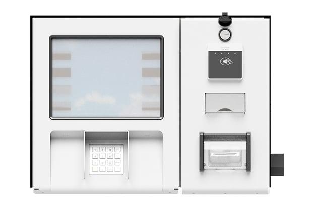 Card Reader in Dispenser