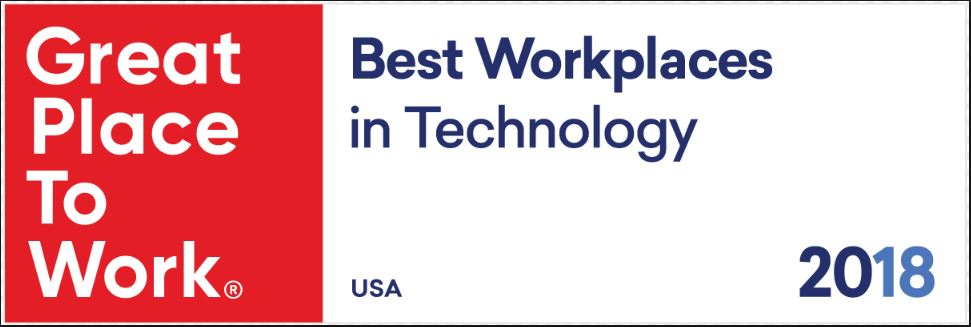 TimeClock Plus One Of 2018′S Top 40 Best Workplaces In Technology By FORTUNE