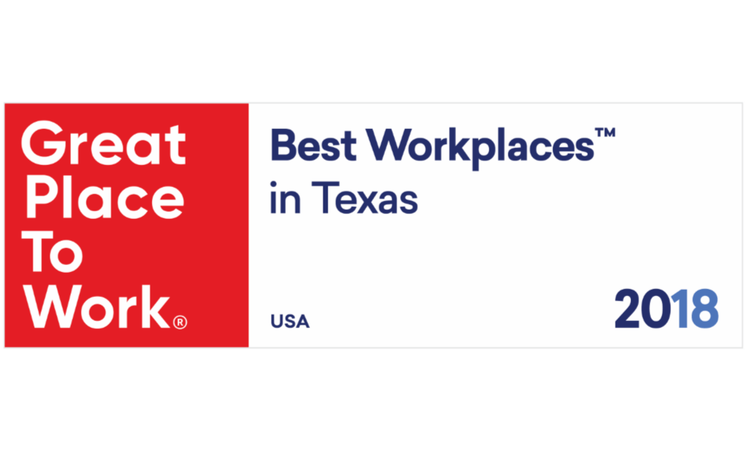 TimeClock Plus Named One Of The 2018 Best Workplaces In Texas By Great Place To Work® And FORTUNE