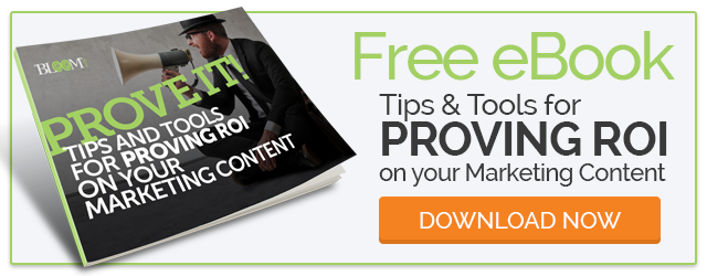 Get your FREE eBook - Proving ROI on Your Marketing Content