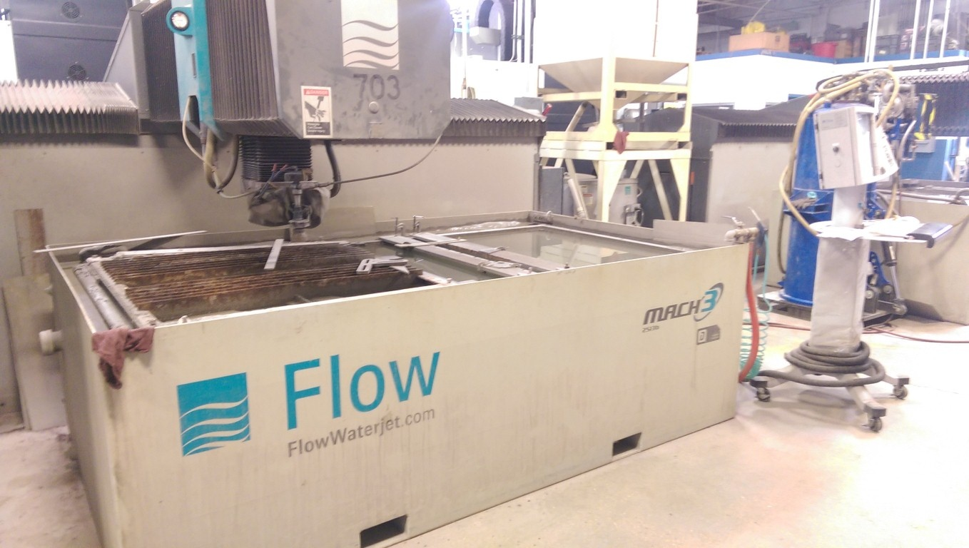 2014 Flow Mach 3 2513B Dynamic Waterjet System (#1899)