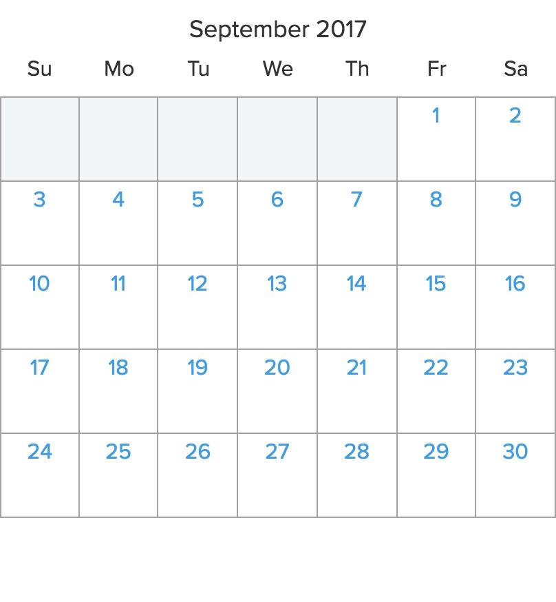 Sail Antigua in September