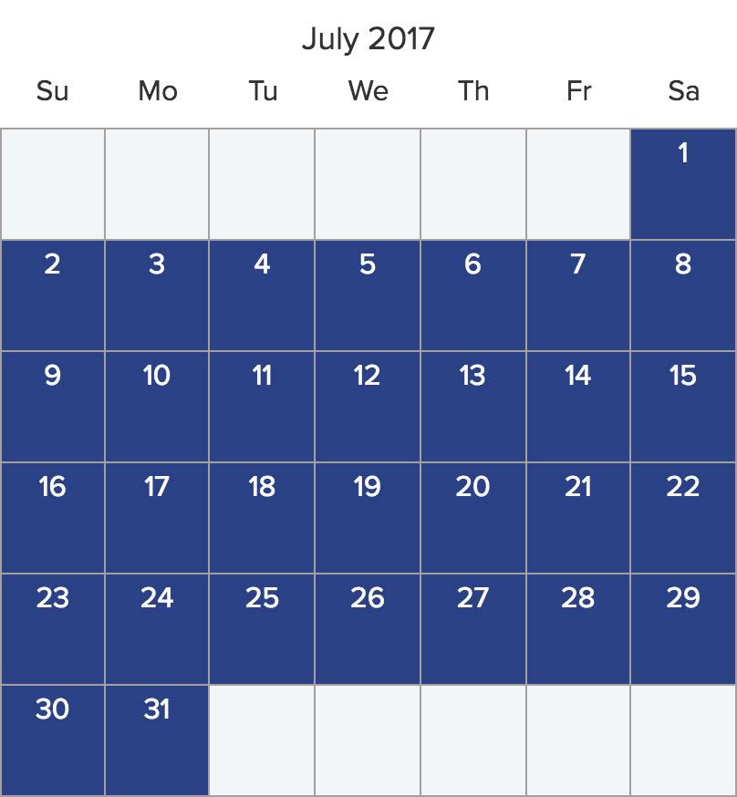 Save 20% on July bareboat charters*