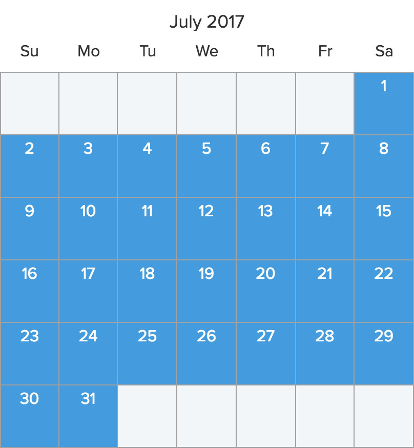 Save 25% on July bareboat charters*
