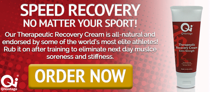 Speed Recovery with the QiVantage Therapeutic Recovery Cream