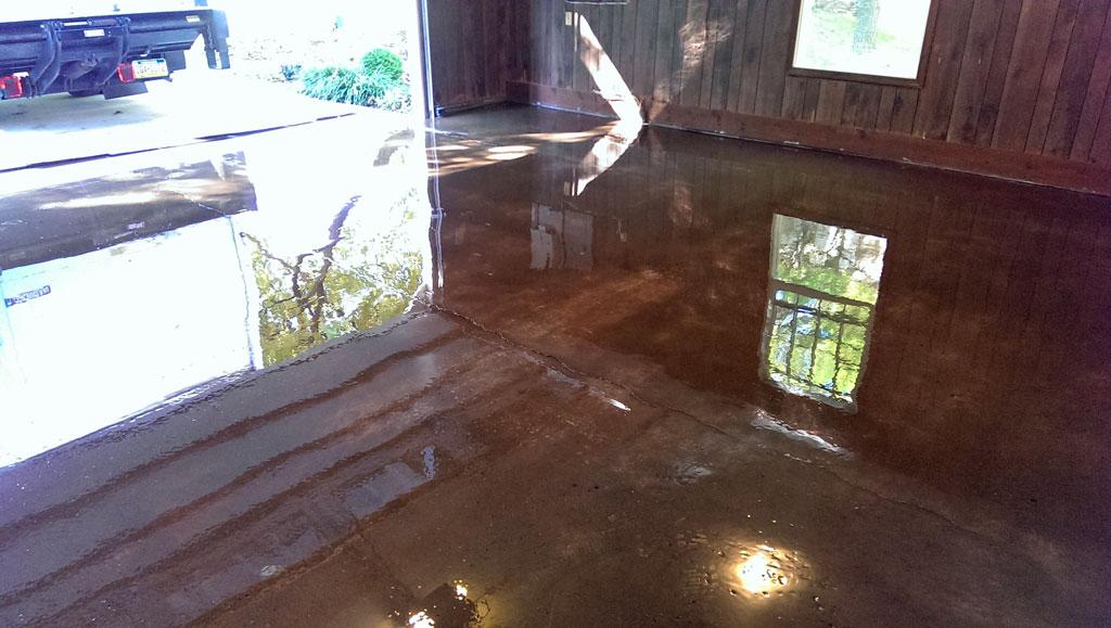 Epoxy Coatings For A Suspended Deck Garage Floor