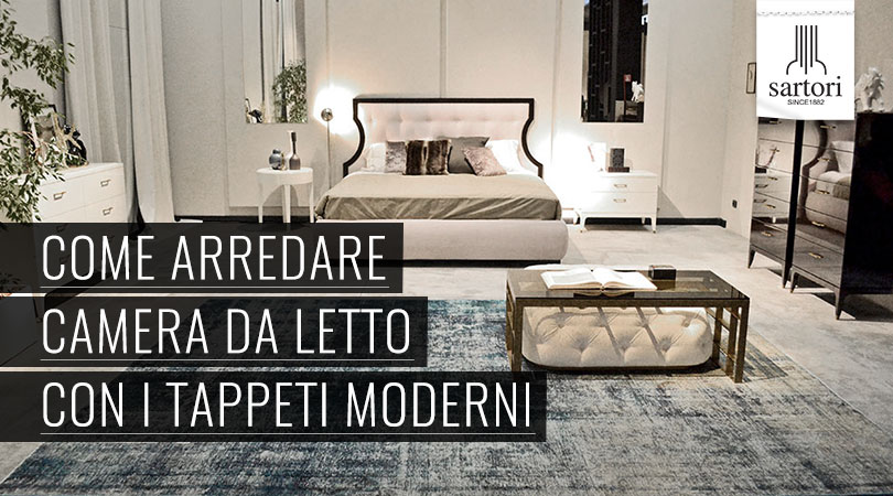 Come arredare camera da letto con i tappeti moderni for Accessori per arredare camera da letto