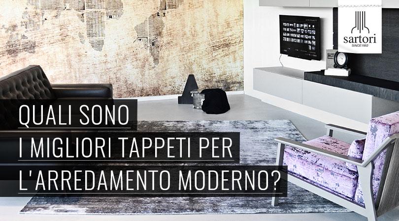 Quali sono i migliori tappeti per l 39 arredamento moderno for Migliori riviste arredamento