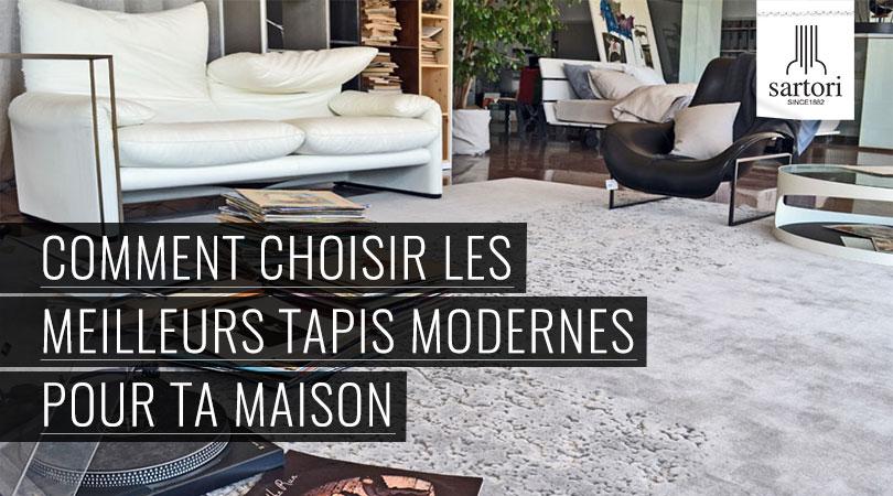 comment choisir les meilleurs tapis modernes pour ta maison. Black Bedroom Furniture Sets. Home Design Ideas