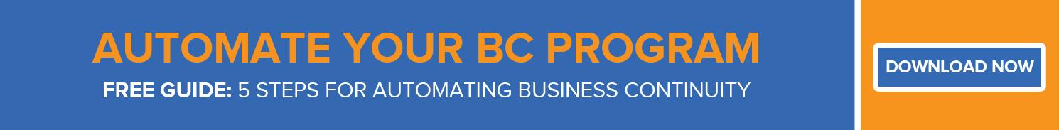 Automate Your BC Program
