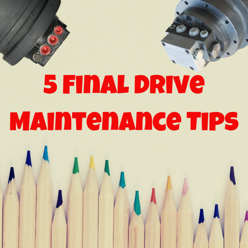 3 Things You Should Know about Gear Oil for Final Drives