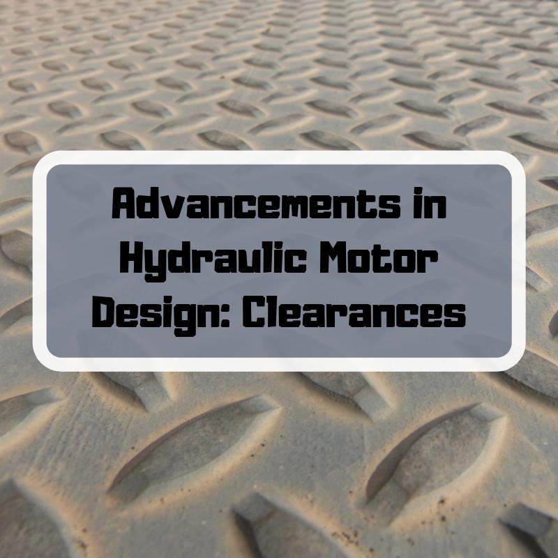 Skid Steer Motion and Hydraulic Motors
