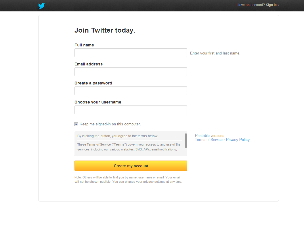 Social Basics: Setting up a Twitter Profile for Business
