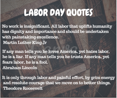 Labor Day Quotes to Remember
