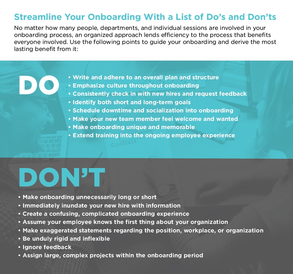 List of Dos and Don'ts