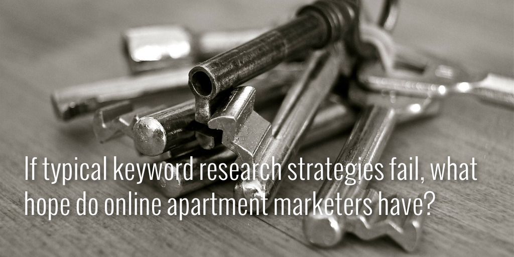 The Apartment Marketer's Guide to Keyword Research Cover Photo