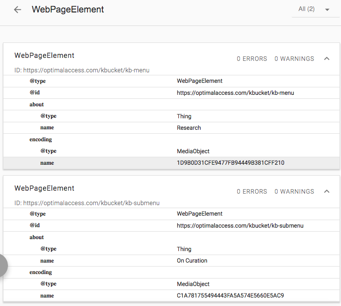 WebPageElement Snippet