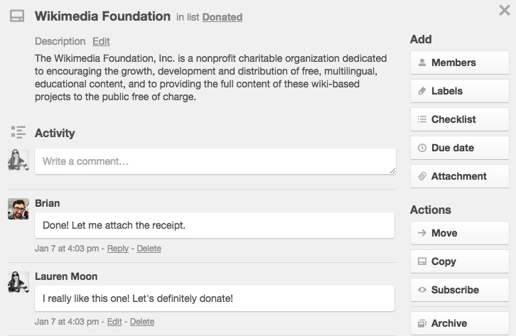 An Easy Trello Workflow To Maximize Charitable Giving And Minimize – Charitable Donation Receipt