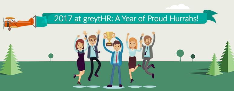 2017 at greytHR: A Year of Proud Hurrahs!