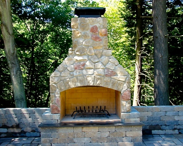 Outdoor Fireplace-48