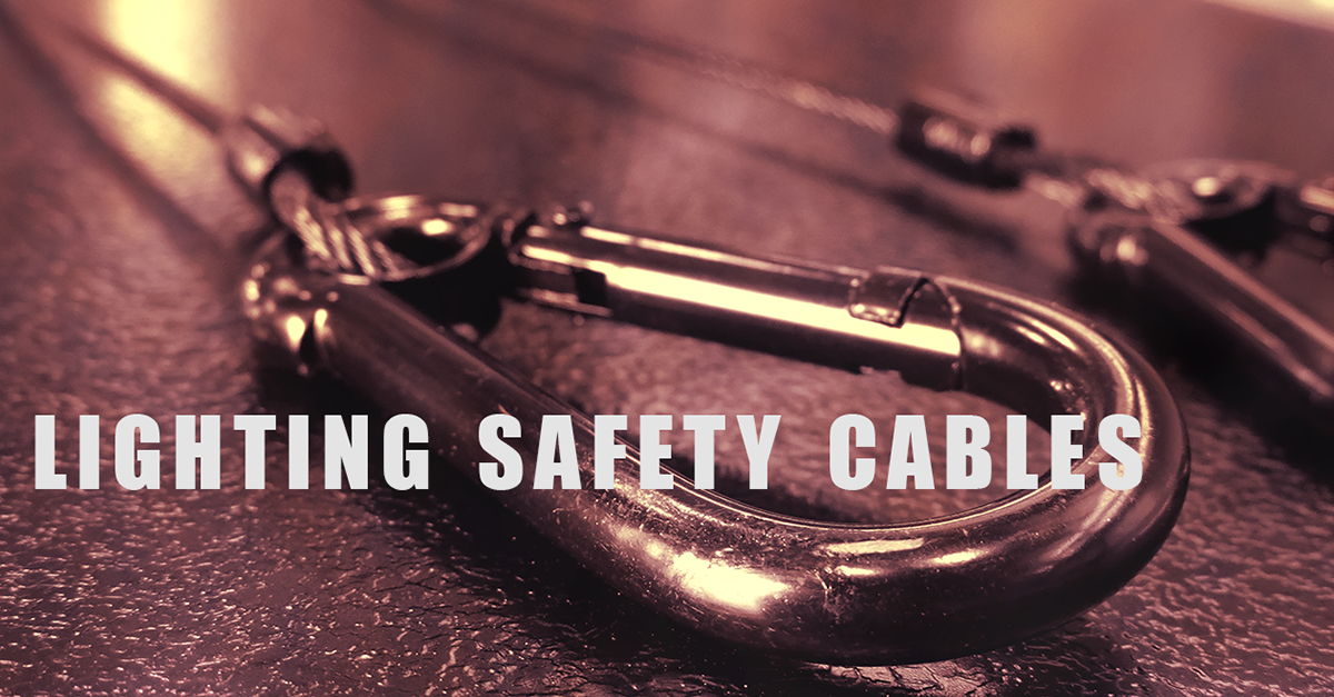 Lighting Safety Cables : Understanding lighting safety cables
