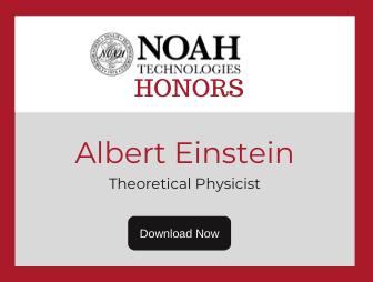 Albert Einstein - Noah Tech Honors Newsletter LP