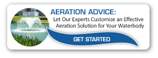 Aeration Solutions for Lakes and Ponds