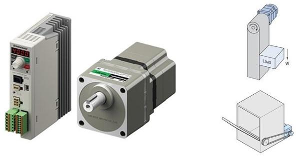 BLE2 Series brushless motor, driver, applications