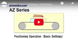 MEXE02 universal driver software programming example