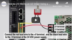 Driver, switch wiring video