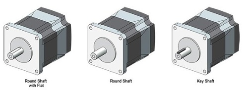 3 Round Shaft Options