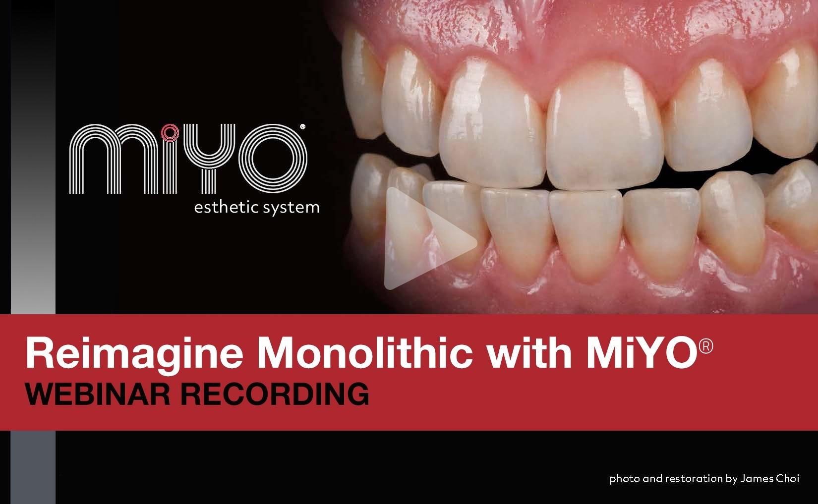 MiYO Liquid Ceramic - Bring your monolithic to life!