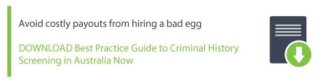 A Guide to Criminal Records in Victoria | Intercheck