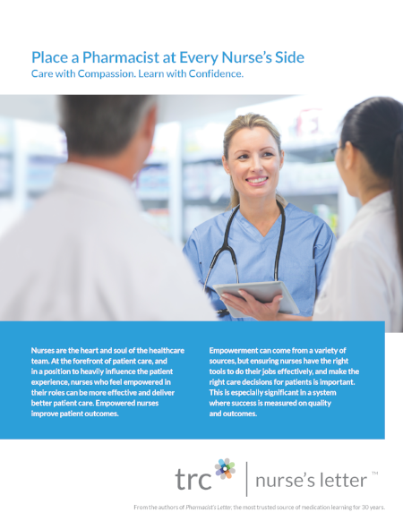 Whitepaper: Place a Pharmacist at Every Nurse's Side