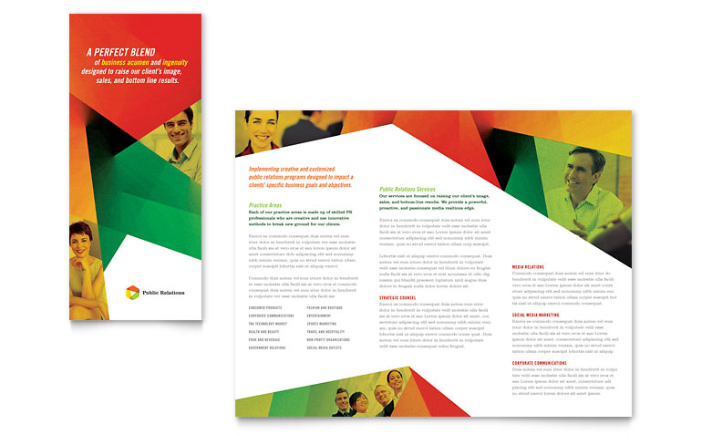 How to create a trifold brochure in indesign free template for Indesign trifold brochure template