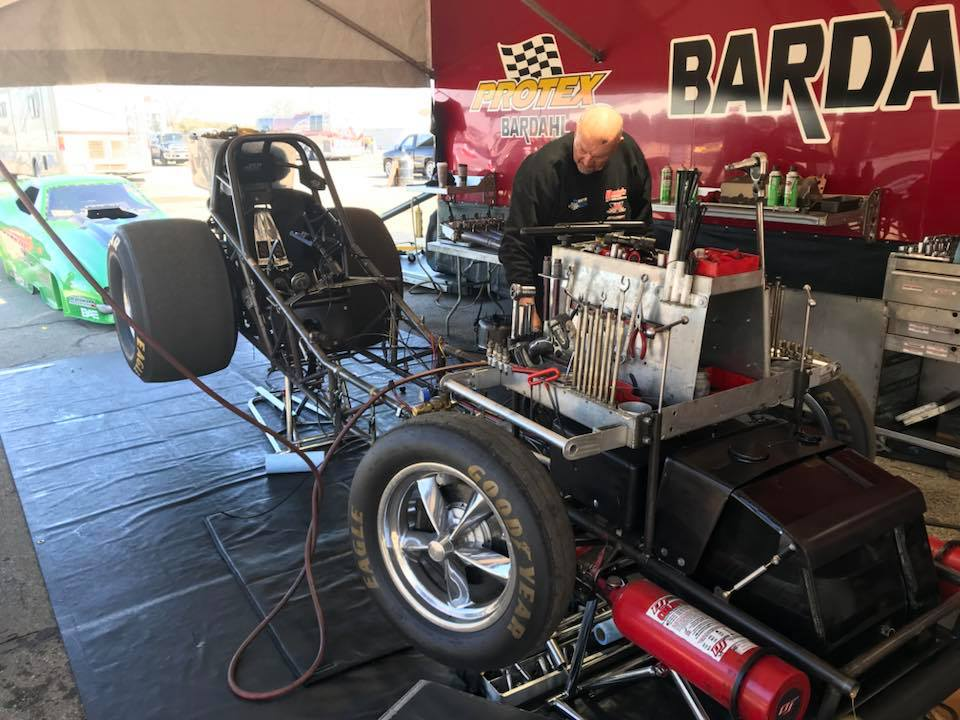 Austin and O'Brien Racing Take Funny Car Title At March Meet