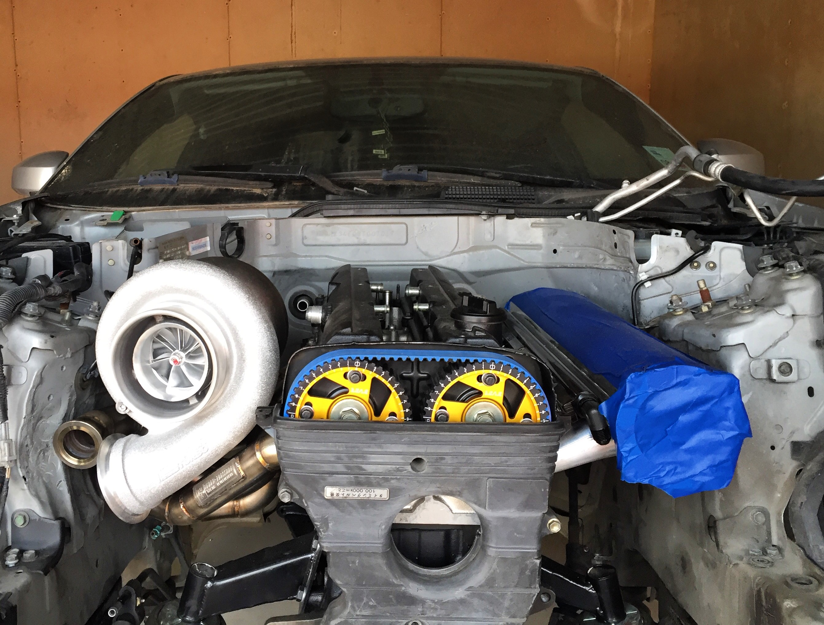 Chris Charles' 2JZ-Powered 350Z Takes The Path Less Travelled