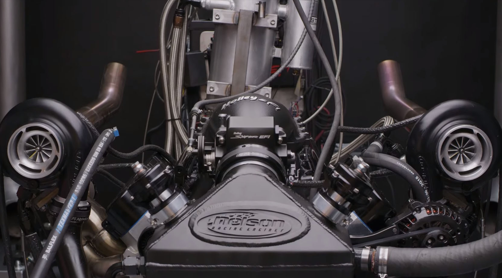 Nelson Racing Engines' 260ci, Twin-Turbocharged LS is