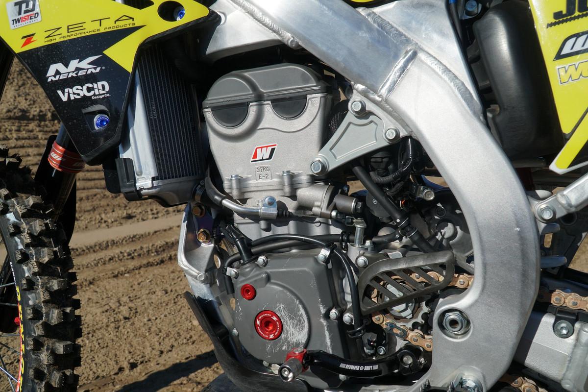 Vital MX's 2019 Suzuki RM-Z450 Factory Bike Build